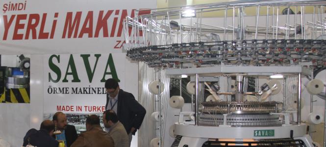 Örme Makinelerine Yerli Üretim Damgası