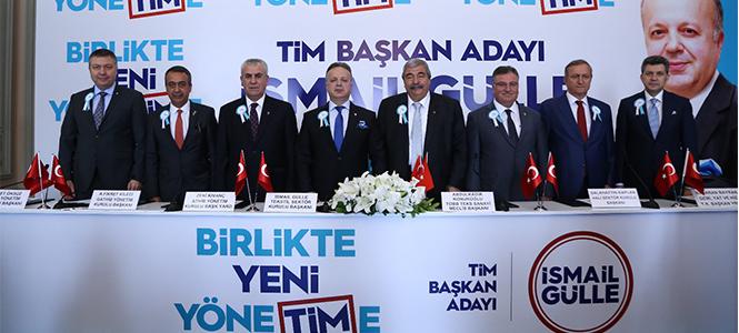 TİM'in Yeni Başkanı İsmail Gülle