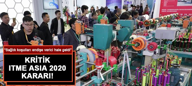 ITME ASIA 2020 Fuar Alanı Başvuru Tarihi Ertelendi