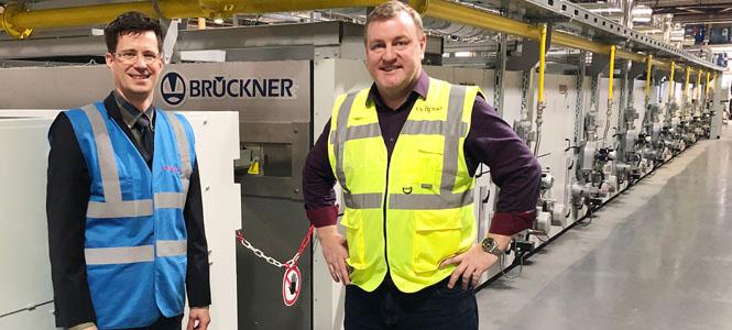 Brückner'den Teknik Tekstil Pazarına Yeni Satış