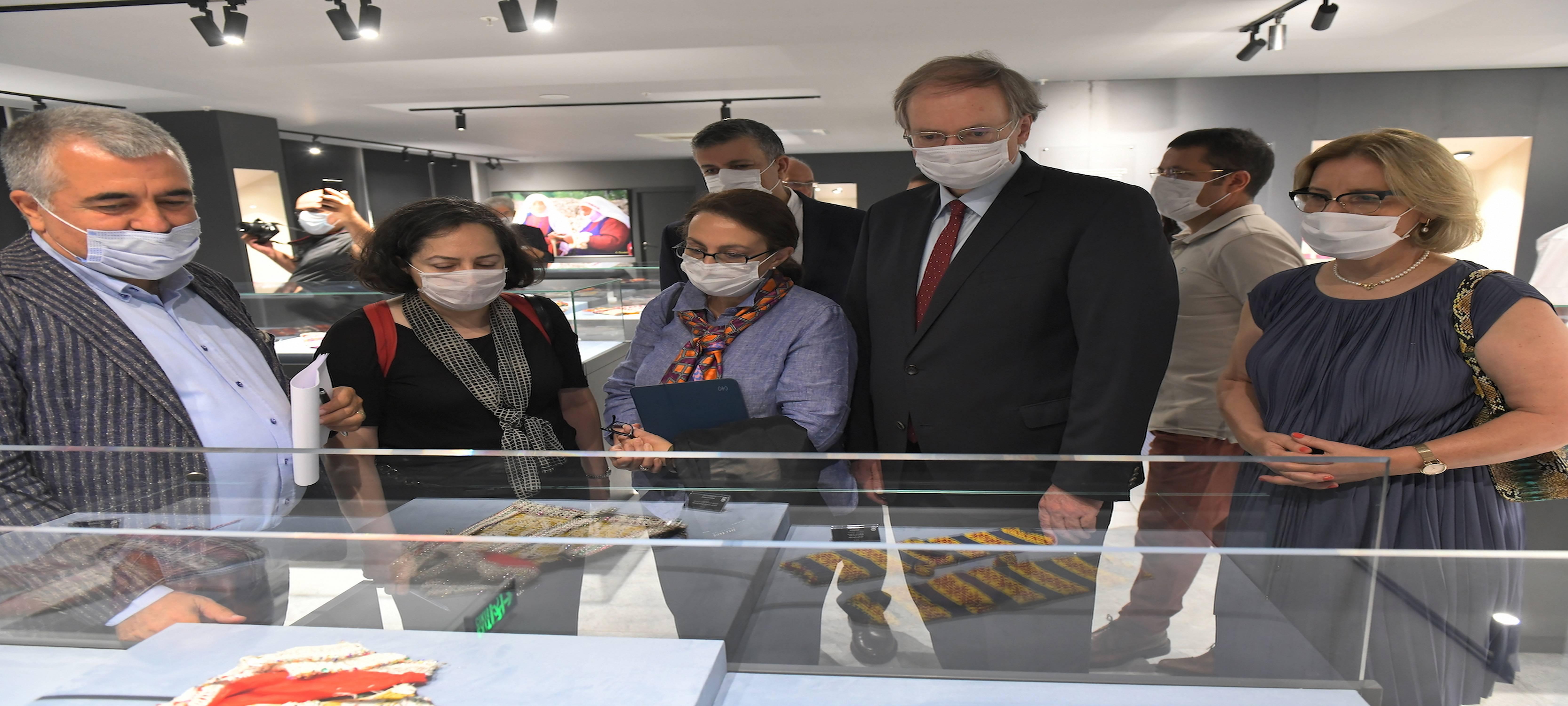 AB'den Türk Çorapları Müzesi Ziyareti