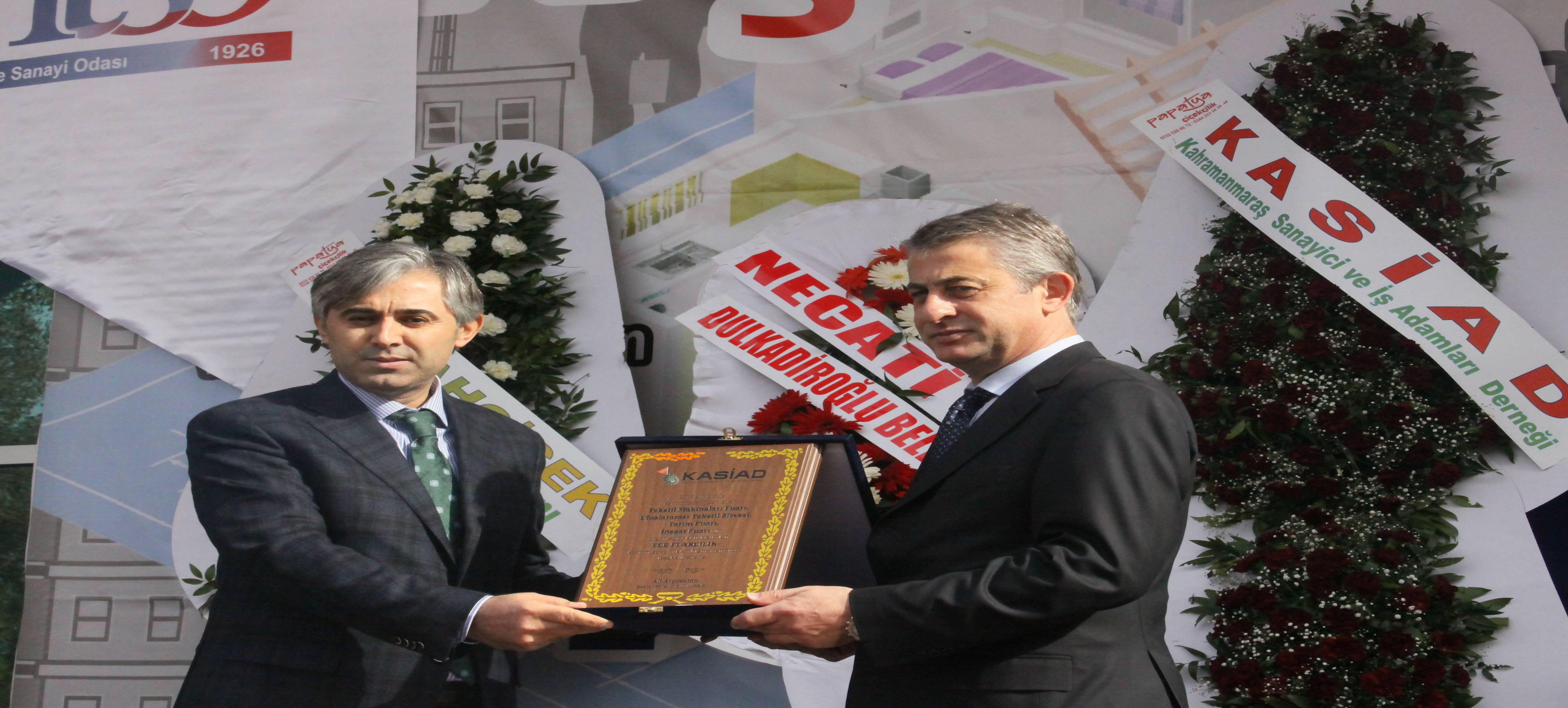 Kahramanmaraş'a Tekstil İhtisas OSB Geliyor.