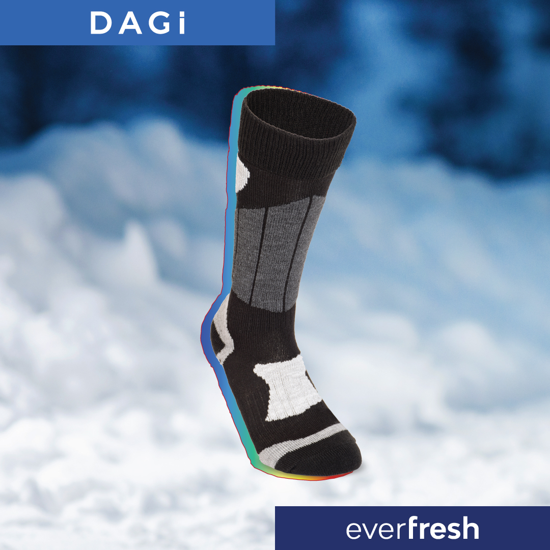 Everfresh technology now in thermal socks