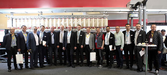 Saurer Presented Their Linked Winding Solution