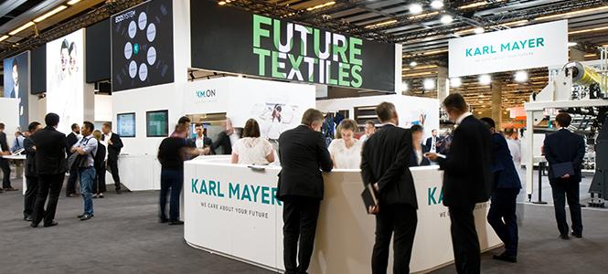 KARL MAYER Witnessed Overwhelming Interest in ITMA Barcelona
