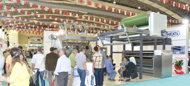 Beneks at KTM with Eco-Compact HT Fabric Dyeing Machine